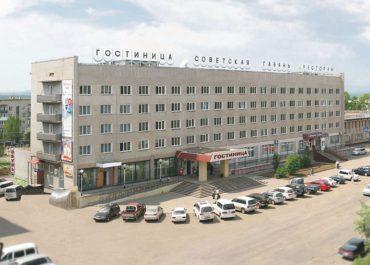 """Гостиница """"Советская Гавань"""""""